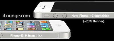 ilounge iphone 5 thinner