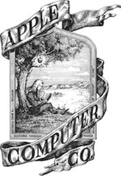 apple original logo 150
