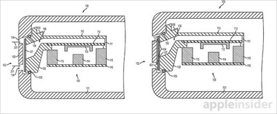 Speaker water resistant patent