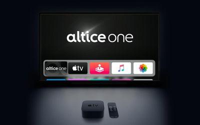 altice one apple tv