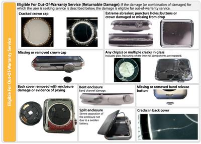 Out of Warranty Apple Watch