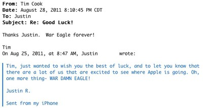 cook war eagle email