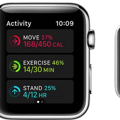 apple watch activity