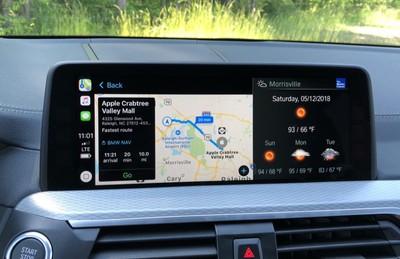 bmw carplay maps