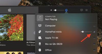 homepod stereo pair music mac