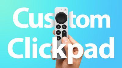 siri remote 2 clickpad settings feature
