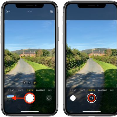 how to take burst photos iphone 11