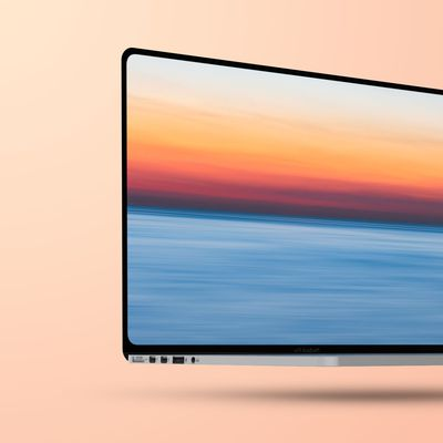 Flat 2021 MacBook Pro Mockup Feature 1