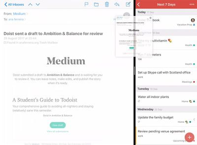 todoist drag and drop