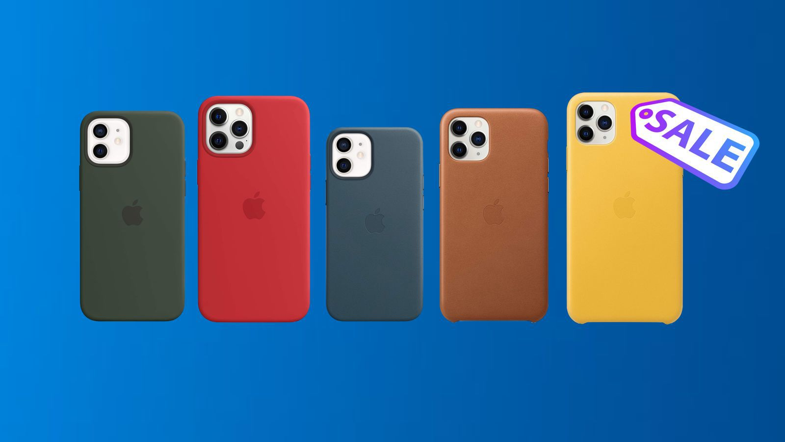 Deals: Not Upgrading to iPhone 13? Amazon Has Apple's Official iPhone 11 and iPhone 12 Cases for Up to $30 Off