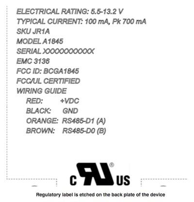 fcc a1845