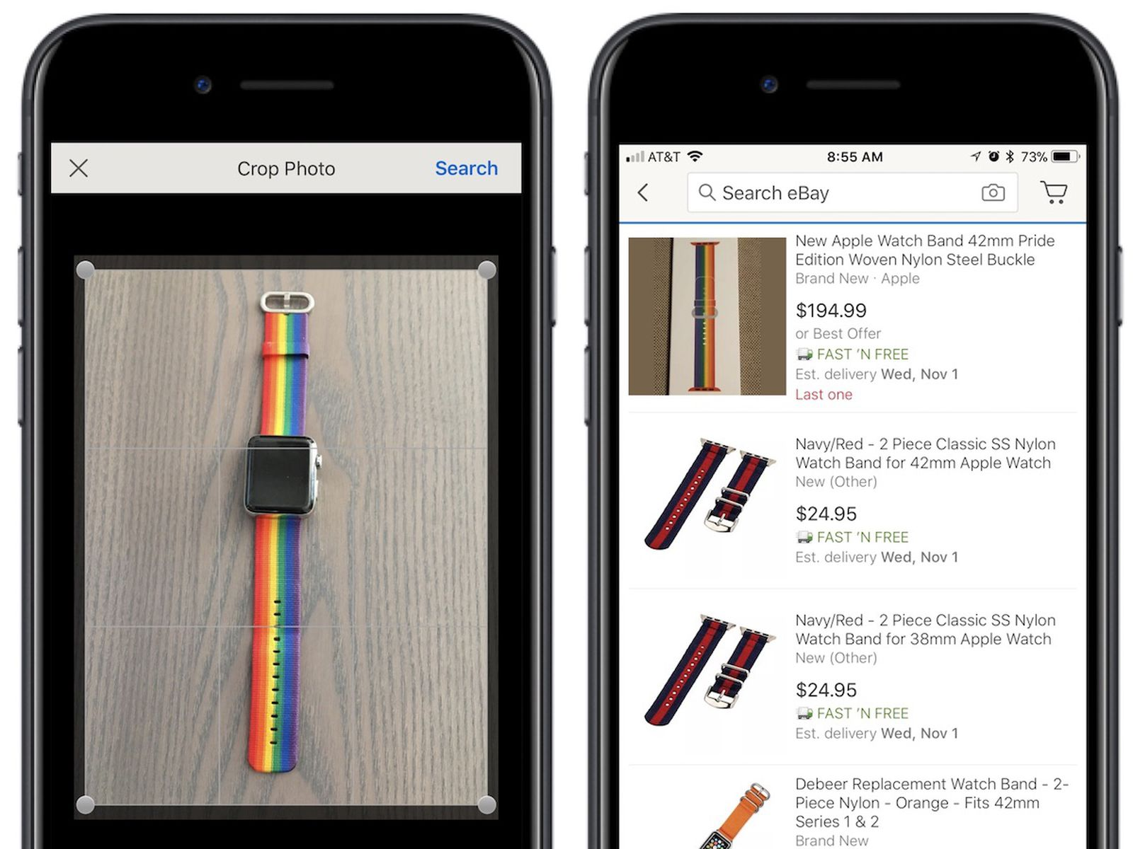 Ebay S New Image Search Feature Is Now Live Within Ios App Macrumors