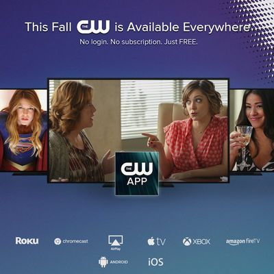 the cw apple tv