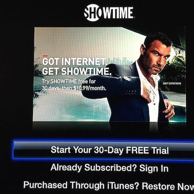 showtime apple tv trial