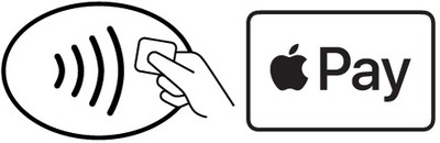 apple pay contactless logo