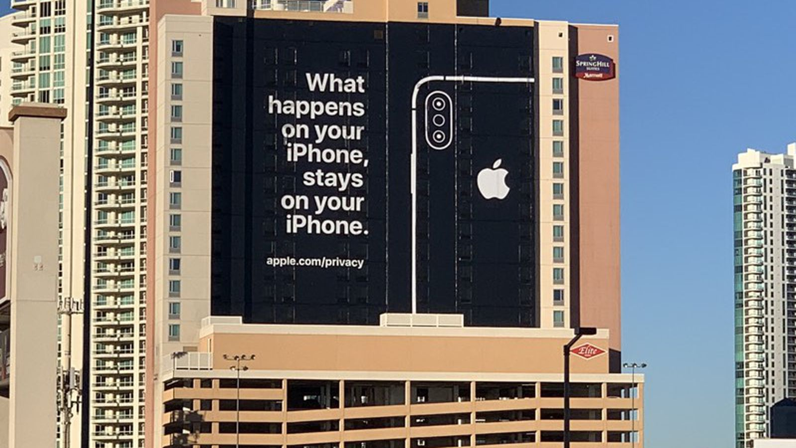 Ahead Of Ces Apple Puts Up Billboard Touting Privacy In Las Vegas Macrumors