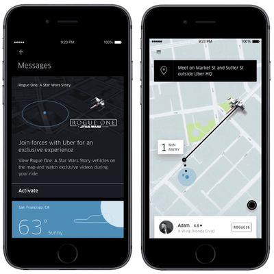 uber star wars update