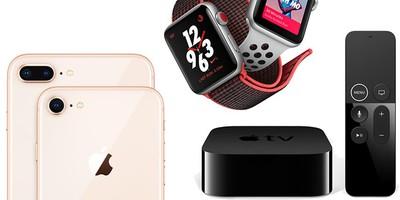 iphone 8 apple watch series 3 apple tv 4k