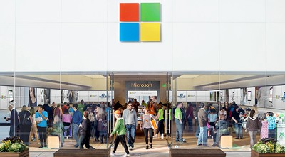 Microsoft to close all but 4 retail stores