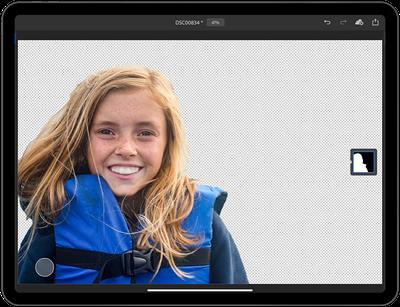 photoshop ipad select subject