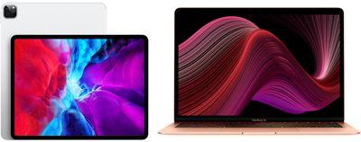 2020 ipad pro 2020 macbook air