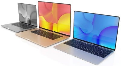 13 16 inch macbook pro air trio