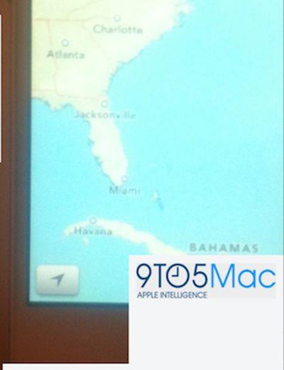 ios 6 maps iphone