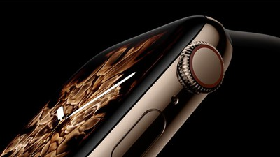 apple watch series 4 flames