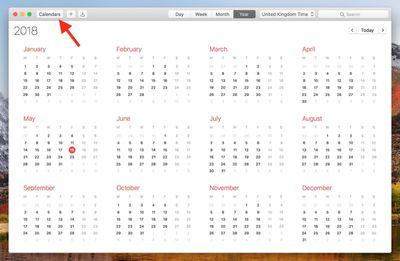 1 basic calendar view macos