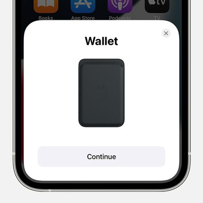 ios15 iphone 12 pro home screen wallet continue