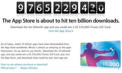 105900 ten billion apps 500