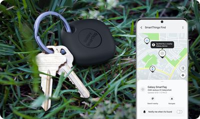 samsung smarttag app keys
