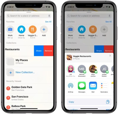 Apple Maps In Ios 13 Collections Favorites Look Around And More Macrumors