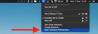 wi-fi Mac