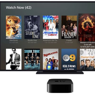 plex apple tv live tv