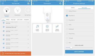 ring chime pro app