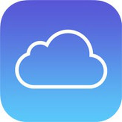 icloud icon blue