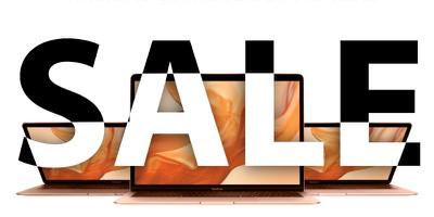 macbook sale gold