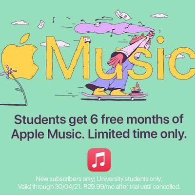 apple music student offer feb 2021