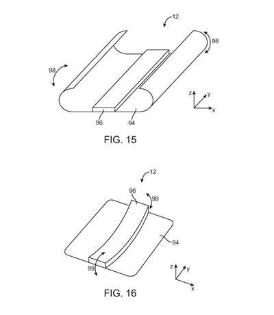 Apple Flexible OLED patent
