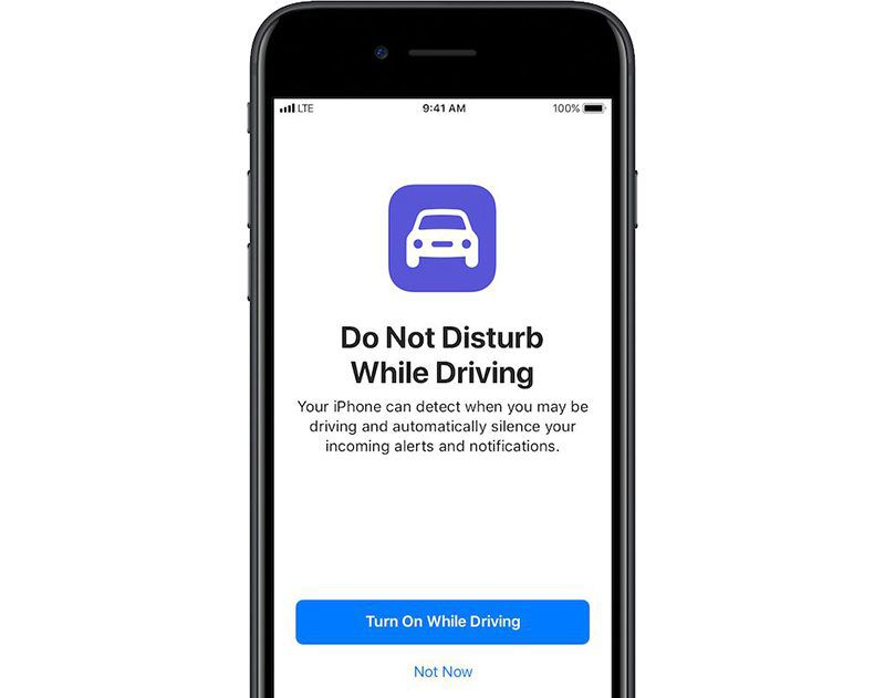 No Text While Driving App >> How To Use Do Not Disturb While Driving Macrumors