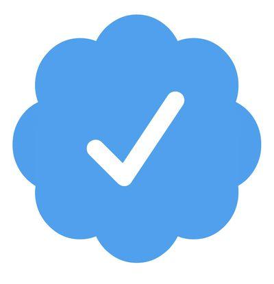 twitter verification tick padded