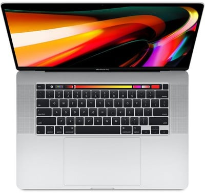 16 inch macbook pro orange background