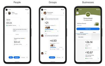 google pay app redesign