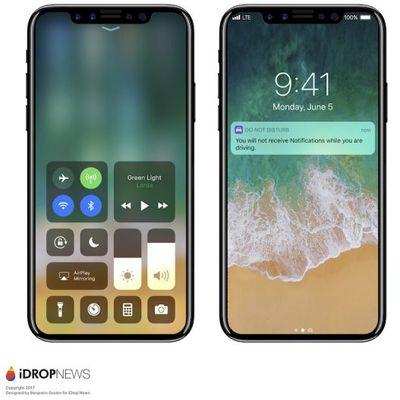 iphone 8 renders ios 11