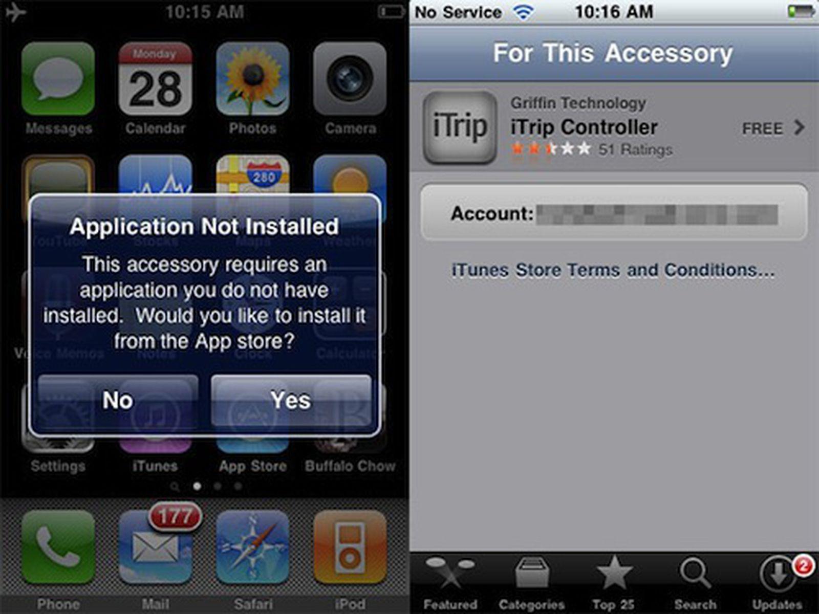 iPhone Hardware Accessories Prompt App Downloads - MacRumors