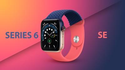 Apple Watch Series 6 vs SE