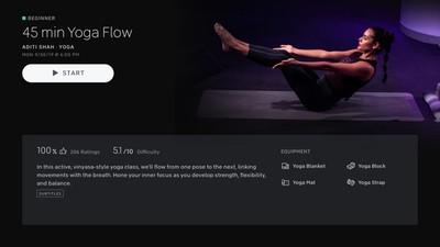 peloton yoga