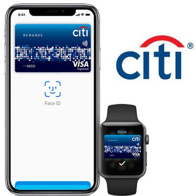 citi apple pay