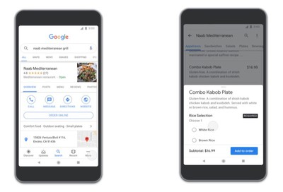 google apps food ordering